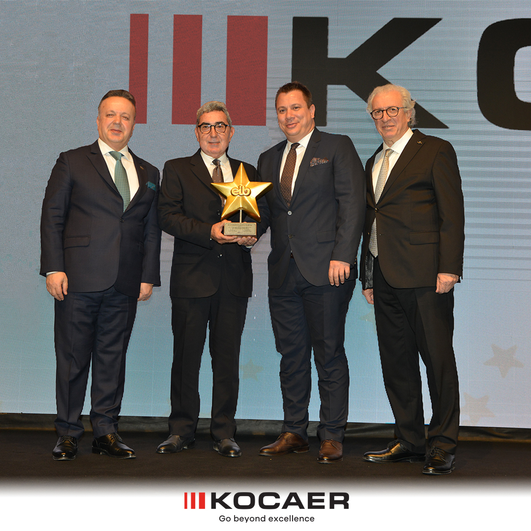 KOCAER Received the Biggest Exporter Award in the Aegean Region This Year!