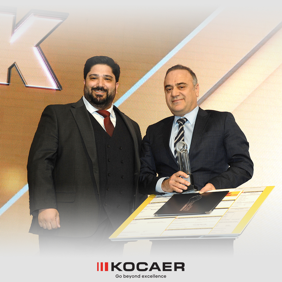 Another Award to KOCAER, the Champion Without Borders!